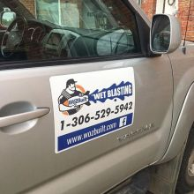 Need car magnets to transform your ride into a work vehicle during the week? Give us a shout.