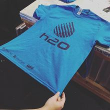 That's one might fine looking tee. Love the garment colour and clean design of the Project H2O logo. 💦 #yqr #reginask #saskatchewan
