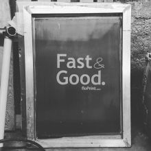 "10 years ago a wise business man once told us: ""Clients always want you to be cheap, fast and good. Tell'em they can pick two..."". We strive to be Fast & Good (at least) #mantra #business #regina #yqr #saskatchewan #sk #printing #printShop #screenPrinting"