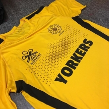 Nice looking shirts we printed for the Yorkton Yorkers Cricket Club. 🏏 Good luck with your match this weekend #cricket #reginacricket #saskcricket #saskatchewan #yorkton #sask #screenprinting