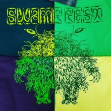 Today's #swampfest t's. Fresh out of the oven. #swampfest2018 #apparel #screenprinting #yqr #teamfloprint