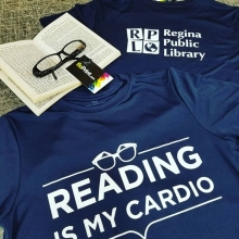 Because reading is what? Fundamental!!! 📚🔖🦉 #reading #tees #apparel #picoftheday #teamfloprint #publiclibrary #yqr #regina