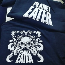 Some really great design for this fall's hoodies. #planeteater #hoodie #yqr #print #teamfloprint #regina