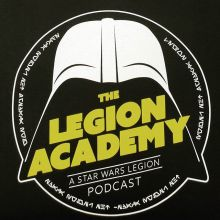 May the *copyrighted quote * be with you. . . . #podcast #legion #academy #starwarslegion #yqr #regina #canada #teamfloprint